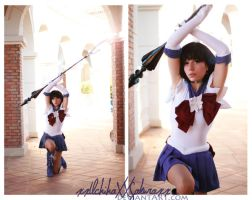 .:Sailor Saturn . The Tenth:. by AsunaCosplay