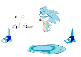 sonic riders ice the hedgehog by icethehedgehog11