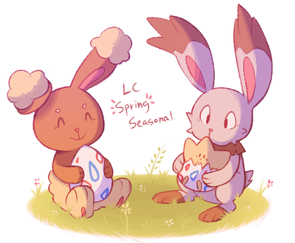 LC Spring Seasonal banner by monomite