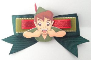 FOR SALE Chibi Bow: Peter Pan by Lokotei