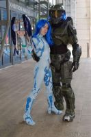 Cortana 'n' Master Cheif by Sailor-Destiny