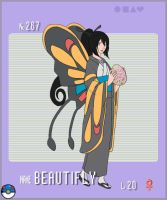 Gijinka Pokemon- Beautifly by Song64