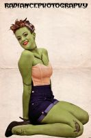 Zombie Pin Up by RadiancePhotography1