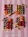 Bandejas sushi by theredprincess