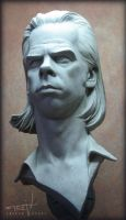 Nick Cave Bust 008 by TrevorGrove