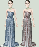 Amelia's Arrival Gown by isoldel