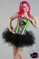 Invader Zim Candy Corset 1 by TheVintageDoctor