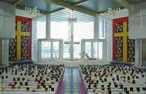 LEGO Chapel by Consumable