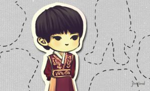 Himchan in Hanbok by jinscloud