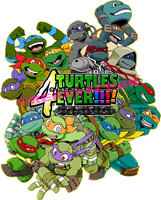 We are TURTLES!!!! by FREAKfreak