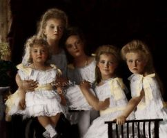 Imperial children 1906 by VelkokneznaMaria