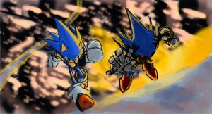 Homage to an Epic Battle by Dash-X