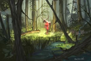 Glade - speedpaint by awanqi