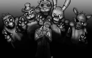 Constantine vs Five Nights At Freddy's by ConstantM0tion