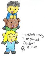 Three Tiered Giant Doctor by MineralRabbit