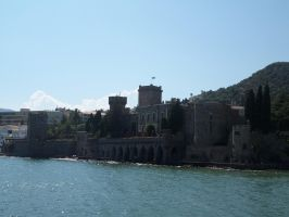Castle on the sea - Three by Altair-E-Stock