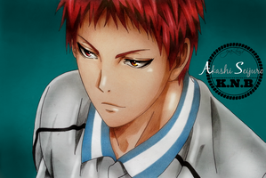 Akashi Seijuro. by Captain1Yazeed