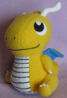 Dragonite Pokedoll by AmberTDD