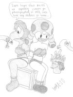 Mario Fanchars in: Bad News by Limpurtikles