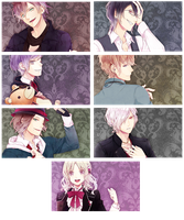 Diabolik Lovers PSP Wallpaper Set 1 by sindia64