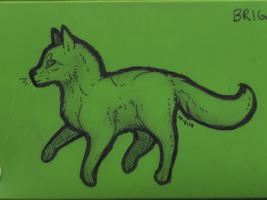 Pencil Box Doodle (Front) by HoliMooTaku