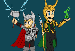 Thor bros helmets by Omis-11