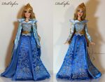 OOAK Limited Edition Aurora doll by lulemee