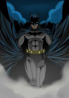 The Caped Crusader by kevzter