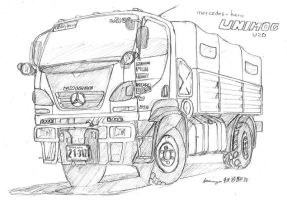 Old Work: MB Unimog U20 by ngarage