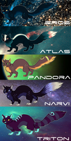 SPACE ADOPTABLES [CLOSED] by Surgeonn