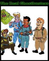 The Real Ghostbusters by Stock7000