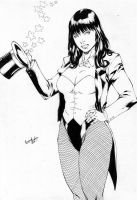 Zatanna-Ink by leonartgondim