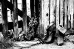 Abandoned Boots by JulietHarvey