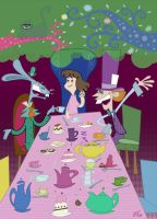 A Mad Tea Party by edgar1975