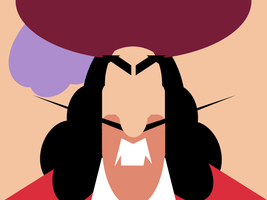 Captain Hook -minimal- by Arnumdrusk