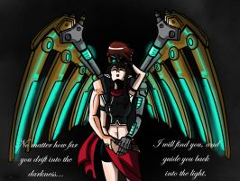 Mechanical Angel by TheChinesePalmTree