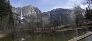 Yosemite Falls by GeocachingOdder