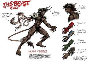 THE BEAST OF VOID - 1st Scar by The-BenT-One