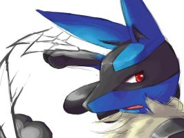 Lucario by Romps
