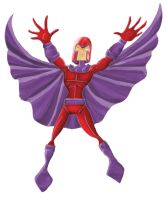 Cartoonish Magneto by PaulVincent