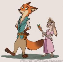 Tangled Zootopia by Caliosidhe