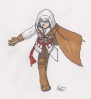 Ezio Auditore da Firenze by Moonlily5