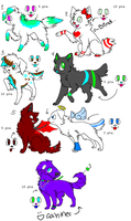 CANINE ADOPTS~//OPEN by PinK-Sugar-T-e-a