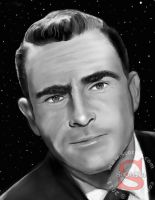 Rod Serling by ScOttRa