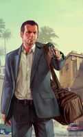 GTA V - Michael by ThomasJakeRoss