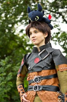 [Cosplay] Hiccup - I by SunwardLight