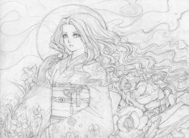 Line art - Emma by Princess--Ailish