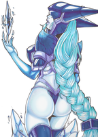 League of Lingerie : LISSANDRA by Mad-projectNSFW
