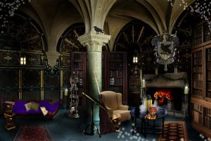 The Ravenclaw Common Room by Filmchild