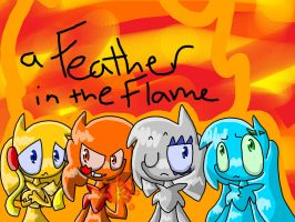 A feather in the flame .:contest entry:. by 0Toxic-Wind0